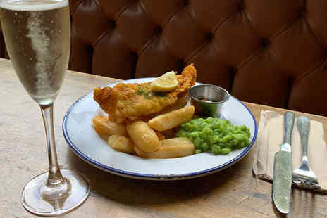 Draft House - Fish and chips for two people - Save 0%