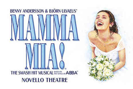 Just Book Sports - A London stay from Just Book Sports with Mamma Mia! tickets - Save 0%