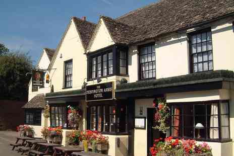 Deddington Arms Hotel - An Oxfordshire stay for two with breakfast - Save 45%