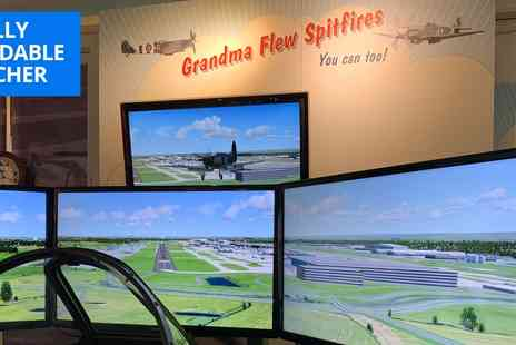Maidenhead Heritage Centre - 60 min Spitfire flight simulator experience - Save 36%