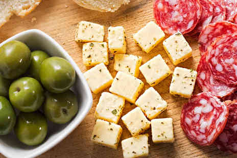 Ristorio Cardiff - An Italian sharing platter for two and one bottle of Prosecco - Save 46%