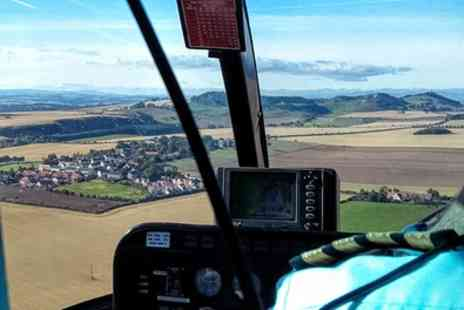 Adventure 001 - Blue Skies Helicopter Tour with Bubbly for Two - Save 50%