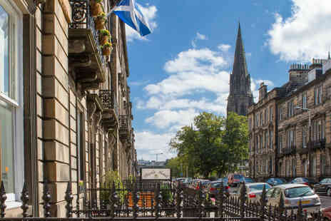 Edinburgh Thistle Hotel - An Edinburgh stay for two people with continental breakfast - Save 27%