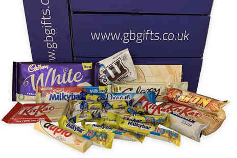 GB GIFTS - Chocolate and sweets mystery hamper box - Save 20%