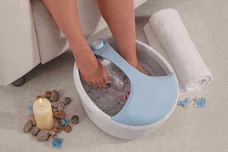 CJ Offers - Beautiful You foot spa and massager - Save 64%