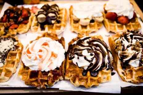 Vap Lounge By Le Vap - Crepe or Waffle with Milkshake for Up to Four - Save 54%