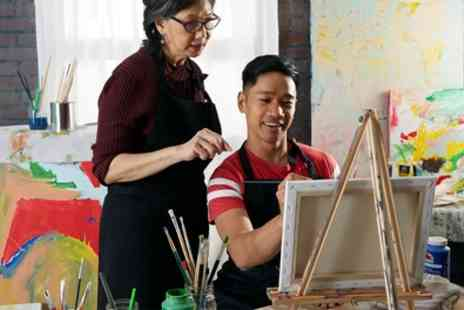 London Art School - Introductory Art, Drawing, Watercolour or Oil Painting Class - Save 30%