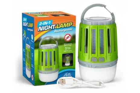 Groupon Goods Global GmbH - Two in One LED Lamp and Mosquito Bug Zapper - Save 0%