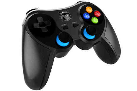 IJego - Ninja Bluetooth Gamepad With Retractable Phone Holder Android or IOS Compatible - Save 32%