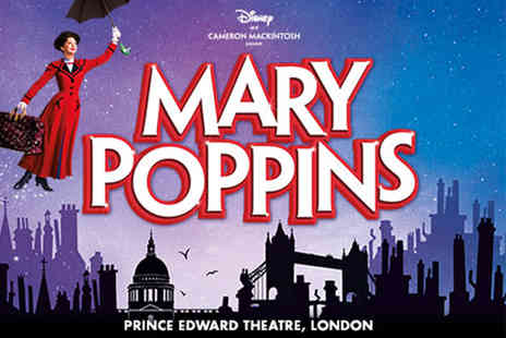 Just Book Sports - A London hotel stay with Mary Poppins The Musical tickets - Save 0%