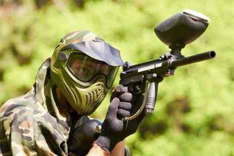 Mayhem South East Paintball Games - Three hour paintballing session for ten people including 100 paintballs each - Save 90%