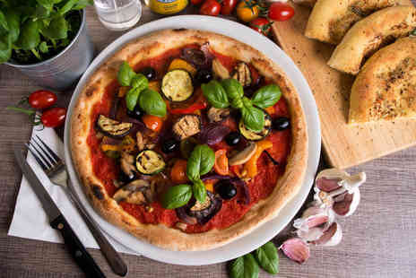 Ristorio Cardiff - Three course Italian dining for two with a glass of wine each - Save 30%