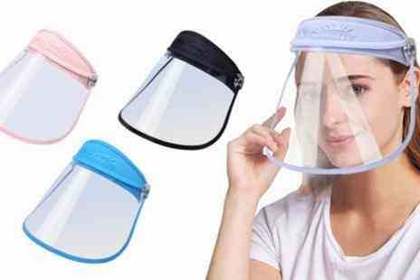 Groupon Goods Global GmbH - Adjustable Roll Up Unisex Face Visor - Save 0%