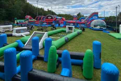 Inflatable Zone - Two Hour Outdoor Bounce Session for Children - Save 50%