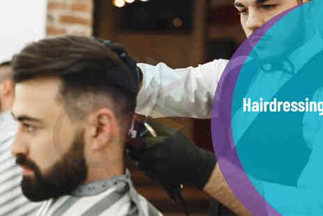 One Education - Hairdressing and Barbering Online Course - Save 98%