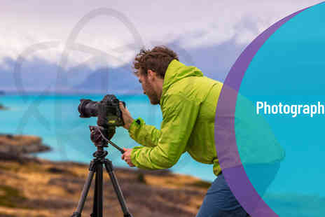 One Education - Ultimate Photography Bundle Level 3 Diploma Online Course - Save 98%