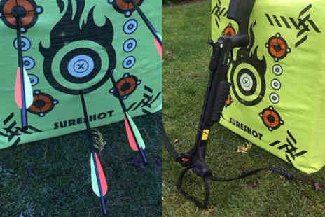 Firefly Activities - One Hour crossbow shooting experience for one person - Save 15%