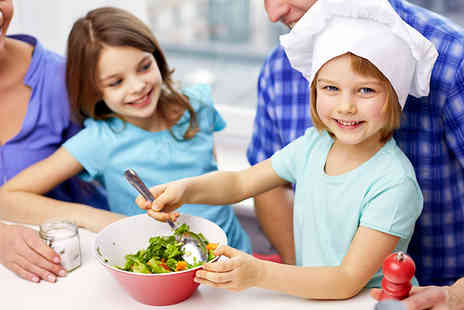 One Education - Healthy Kids Cooking Level 2 Online Course - Save 98%