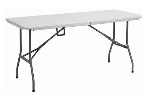 Direct 2 public - 6ft or 4ft Folding Picnic Table - Save 66%