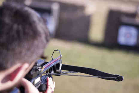Activity Centre Blyth - One hour crossbow shooting experience for two people - Save 59%