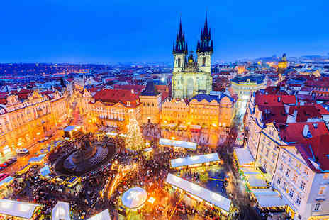 Weekender Breaks - A Prague, Czech Republic hotel stay with breakfast and return flights - Save 48