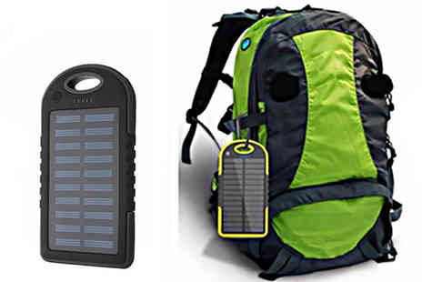 The Electronic Store - Solar charger battery pack for your phone - Save 60%