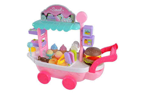 Magic Trend - 36 piece mini ice cream cart toy - Save 83%