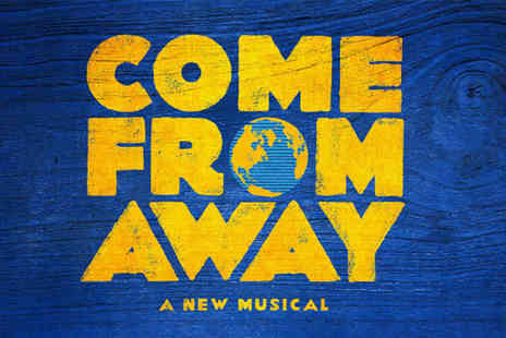 Just Book Sports - A London hotel stay & Come From Away theatre tickets - Save 0%