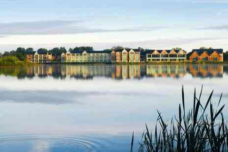 De Vere Cotswold Water Park - An overnight Cotswold stay for two people with breakfast - Save 0%