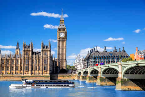 OMGhotels - A London Stay with breakfast and Afternoon Tea on the River Thames ticket - Save 0%