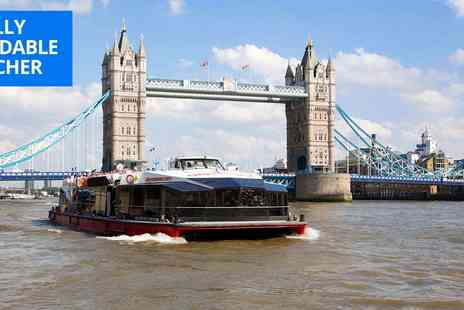 City Cruises PLC - 24 hour hop on, hop off Thames cruise ticket - Save 46%