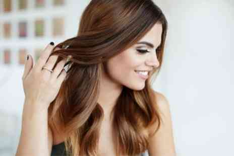 Posh Hair and Beauty - Wash, Cut and Blow Dry with Optional Colour or Highlights - Save 74%