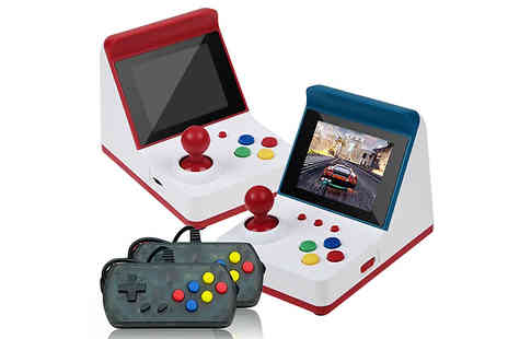 Wish Whoosh Offers - Mini Retro Game Console With 2 Controllers and 360 Classic Games - Save 75%