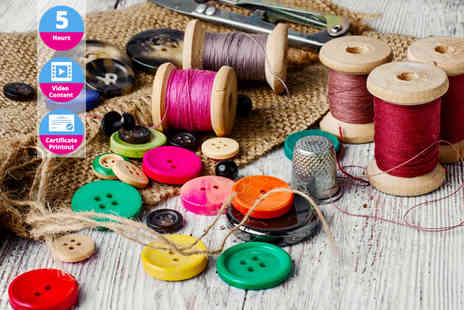 OfCourse - Sewing and fashion design course bundle - Save 89%