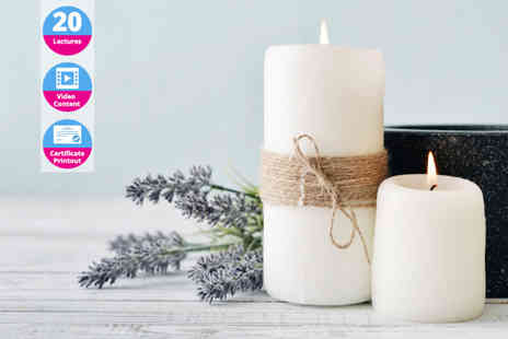 OfCourse - Online candle making course - Save 84%