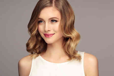 Styles Head - Haircut and blow dry with the choice of half head of highlights or full head of colour - Save 63%