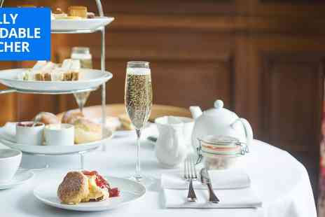 Cowley Manor - Sparkling afternoon tea for 2 - Save 46%