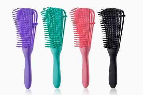 I Nod - Detangling paddle brush with flexible teeth - Save 0%
