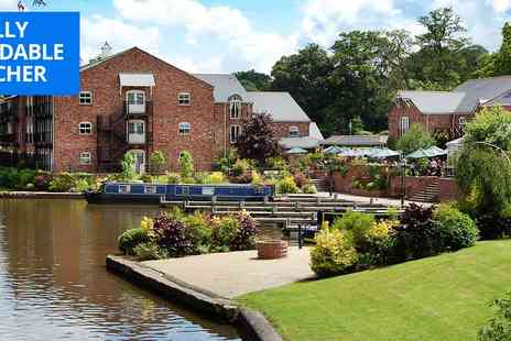 Lion Quays Hotel - Shropshire spa package including treatments & afternoon tea - Save 32%