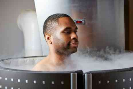 The Cryo Hub - Two or Three Minute Cryotherapy Session - Save 50%