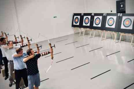 Indoor Archery - One Hour Session for Up to Four - Save 29%