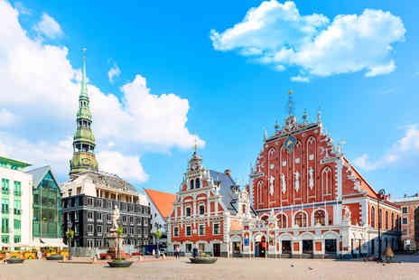 Weekender Breaks - A Riga, Latvia hotel stay with breakfast and return flights - Save 58%