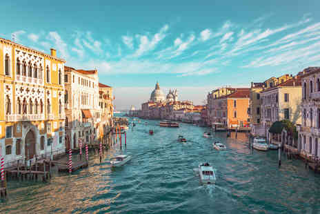 Crystal Travel - A Venice, Italy hotel stay with return flights - Save 44%