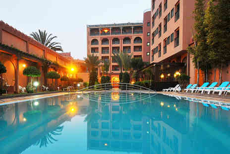 Crystal Travel - A Marrakech, Morocco hotel stay and return flights - Save 43%