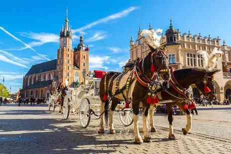Bargain Late Holidays - A Krakow, Poland hotel stay with return flights - Save 40%