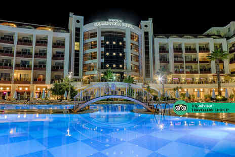 Bargain Late Holidays - An all inclusive Marmaris, Turkey hotel stay with return flights - Save 40%