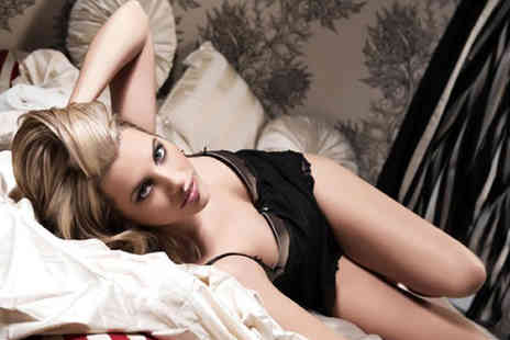 Nicola Bald Photography - One hour boudoir or doudoir photoshoot including makeover, bubbly - Save 94%