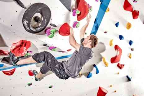 Substation - Indoor Climbing Day Pass with Shoe Hire for Up to Four Adults - Save 29%