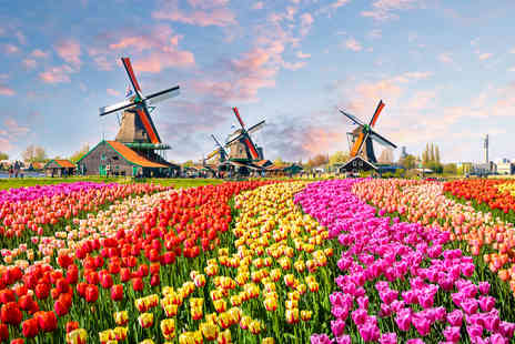 Crystal Travel - An Amsterdam, The Netherlands hotel stay with an evening canal cruise and return flights - Save 31%