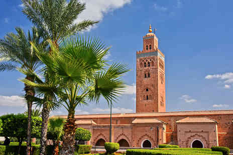 Bargain Late Holidays - A Marrakech, Morocco hotel stay with breakfast and return flights - Save 20%